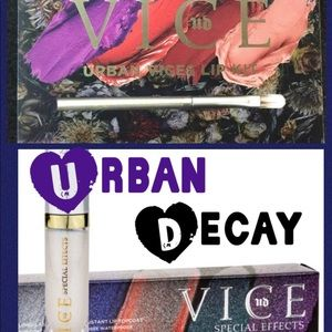 URBAN DECAY Vice lip kit &special effects top coat